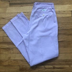 Vineyard Vines Lavender Chinos 34